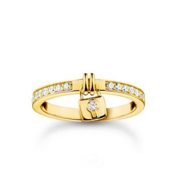 "Thomas Sabo ""gold lock"" gyűrű TR2371-414-14"