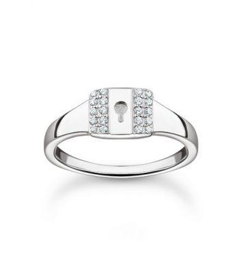 """Thomas Sabo """"lock"""" gyűrű TR2372-051-14"""