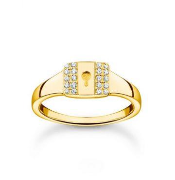 "Thomas Sabo ""gold lock"" gyűrű TR2372-414-14"