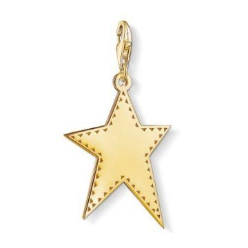 "Thomas Sabo ""Aranyozott Csillag"" Charm Y0040-413-39"